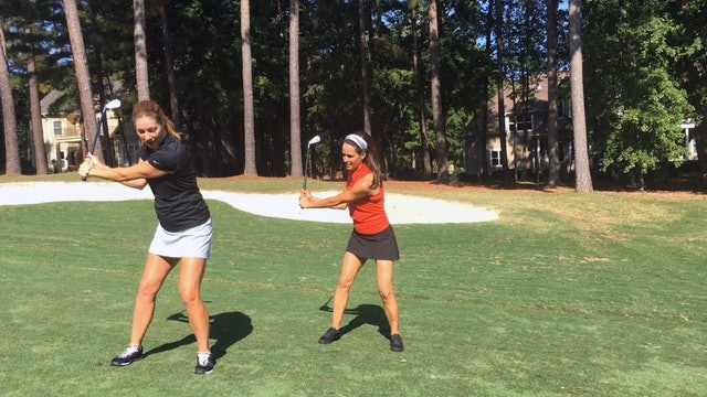 1:24 min Improve Your Golf and Fitness with this Set-Up Drill