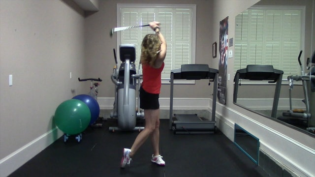 13-minute Steady Pace Muscular Endurance Workout for Golfers