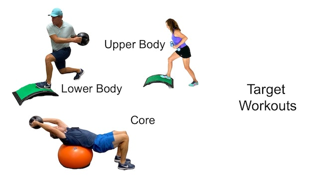 Cross Training for Golfers-Strength and Power Workouts