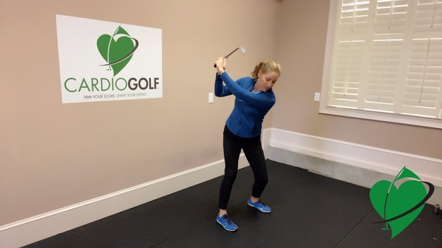 Day 23-CardioGolf™ 30 Days to a Fluid Golf Swing!