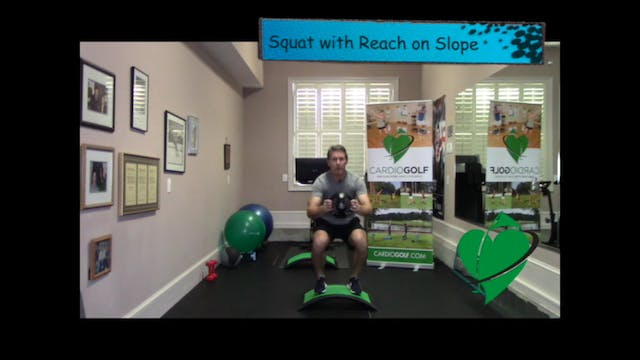 Squat with Reach
