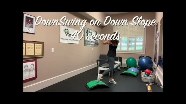 7-minute At-Home Workout-Twist, Tone, Swing and Stretch