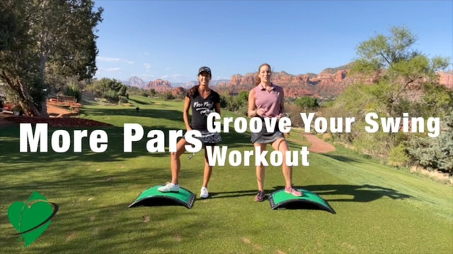 35-min CardioGolf™ More Pars Groove Your Swing Workout-No Music