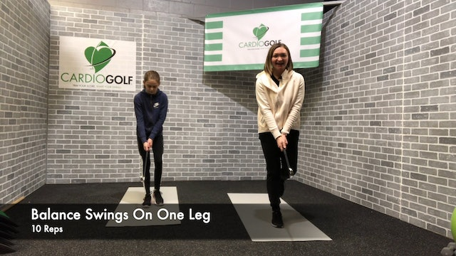 14:49-minute Shape Your Swing Junior Workout Featuring Britni Gielow