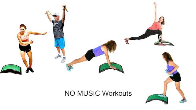 NO MUSIC Workouts