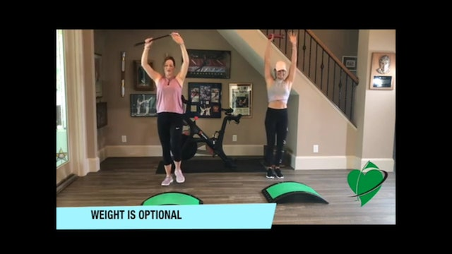 14-minute Total Body Series-Muscular Endurance HIIT Workout
