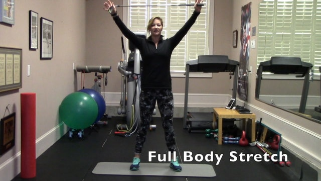 7-min Post-Round Flexibility Routine