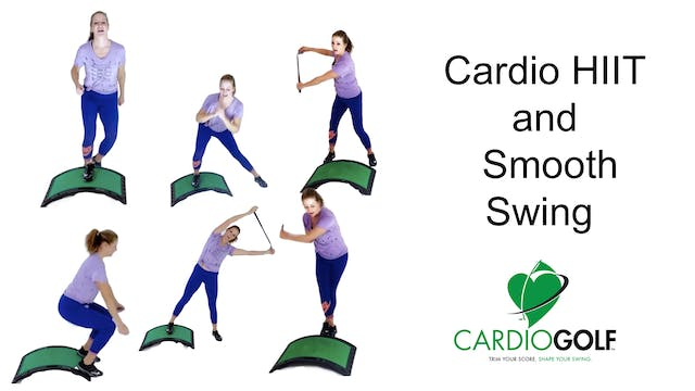 31-minute Cardio HIIT and Smooth Swin...