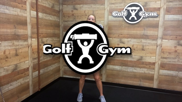 The CardioGolf™ Shortee Club and GolfGym® PowerSWING Plus Drill (003)