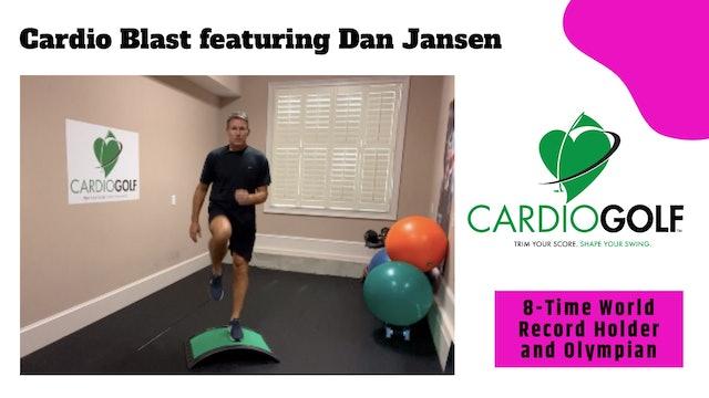 10-min Cardio Blast Featuring Dan Jansen