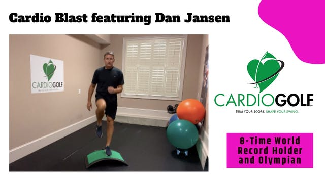 10-min Cardio Blast Featuring Dan Jan...