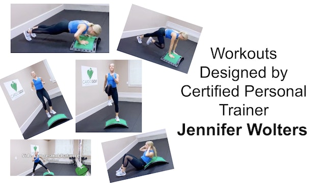 Workouts Designed by Certified Personal Trainer Jennifer Wolters