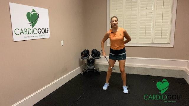 Day 16-CardioGolf™ 30 Days to a Fluid Golf Swing