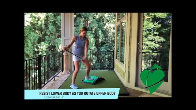 8-minute Golf and Flow Workout