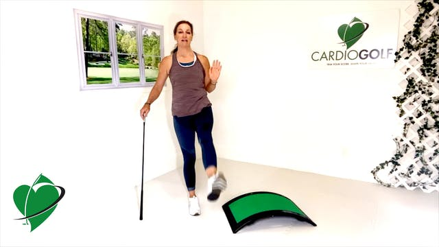 45-minute CardioGolf Recorded Live-Gr...