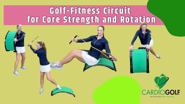 40-min Golf-Fitness Circuit for Core Strength and Rotation