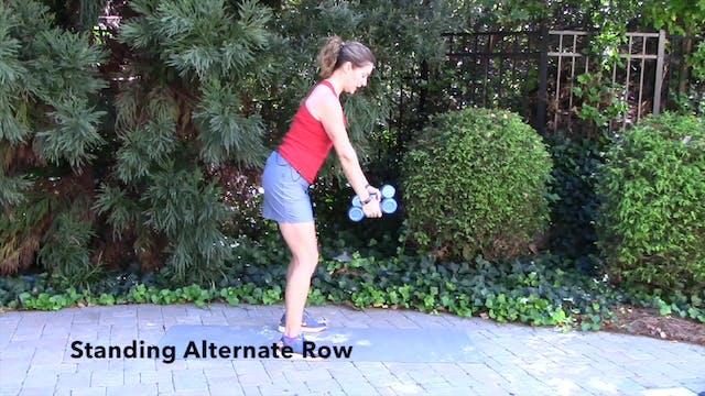 1-minute Rotational Row