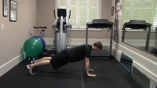 1.2 minute Push-Up Exercise