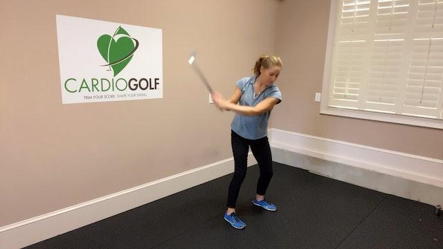 Day 24-CardioGolf™ 30 Days to a Fluid Golf Swing!