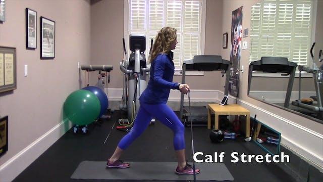 1 min-Calf Stretch