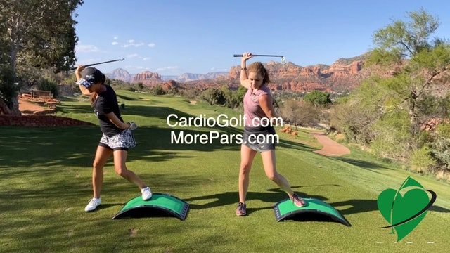 CardioGolf More Pars Workout Preview