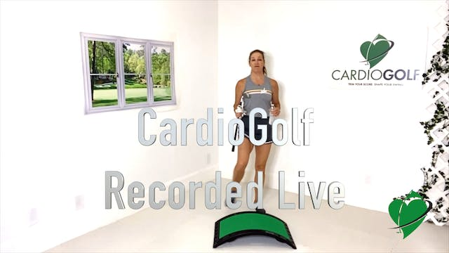 39:48 min CardioGolf Recorded Live Gr...