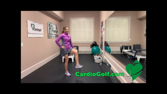 12-Dynamic Stretch Routine