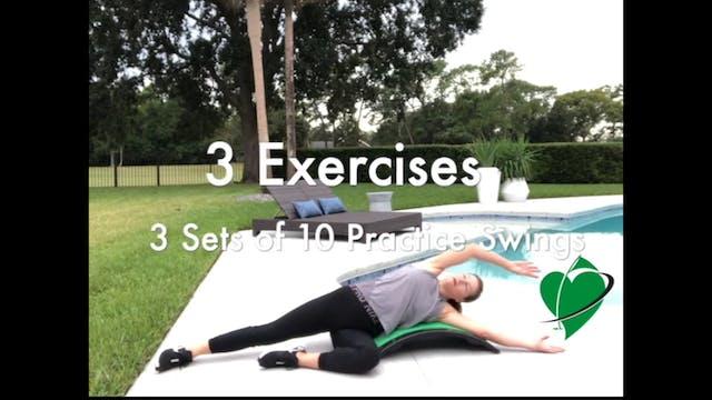 1-minute Practice Swing Challenge