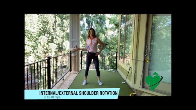 15-minute CardioGolf™/GolfGym® PowerBandz Shoulder Workout