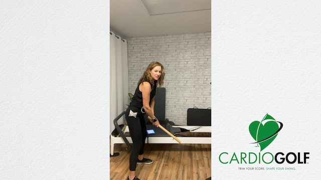 1-minute CardioGolf™ Daily Dose Tip for Spine Angle