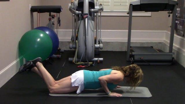 1-minute Push-Ups (On Knees variation)