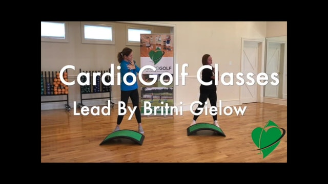CardioGolf Video Series Featuring Britni Gielow Introduction