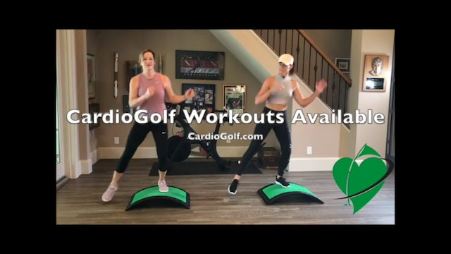 How to Groove Your Swing with CardioGolf™
