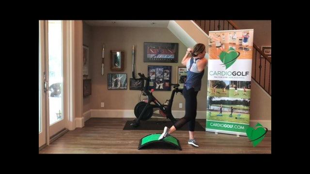 20-minute Total Body Groove Your Swing Workout