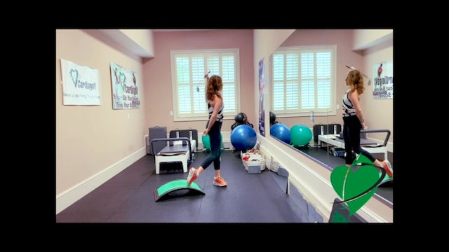 36-minute Total Body Cardio and Swing Workout (Cardio 004)