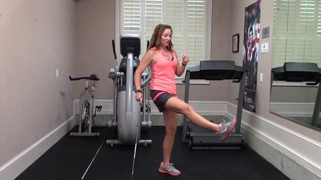 8-minute Glute Toner Endurance Workout