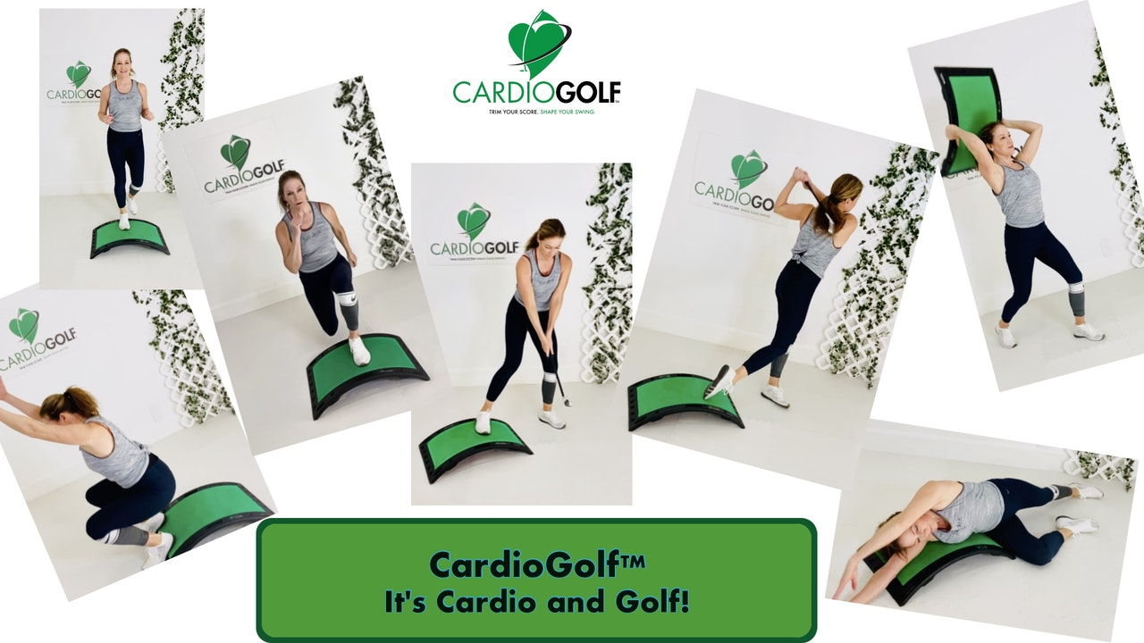 CardioGolf™ Groove Your Swing Workouts with Shortee Club and Slope