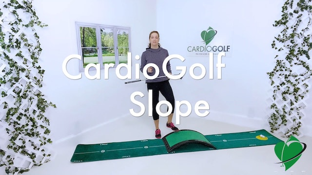 10:41-minute Putting Drills Using the CardioGolf Slope