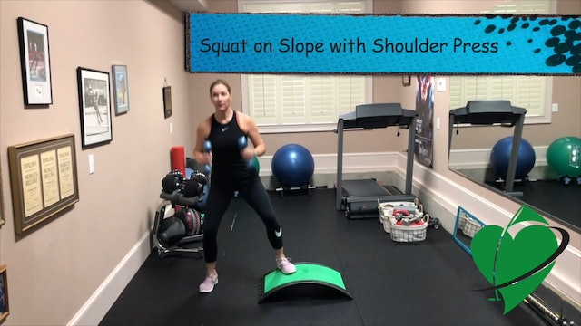 2-minute Upper and Lower Body Combo Mini-HIIT Workout