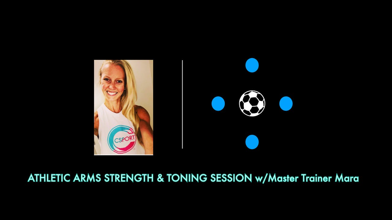 Athletic Arms Strength Session