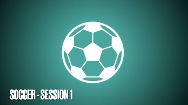 SOCCER CONDITIONING - Session 1