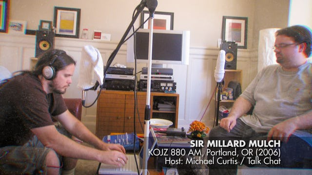 Sir Millard Mulch Interview On KOJZ 880 AM (2006)