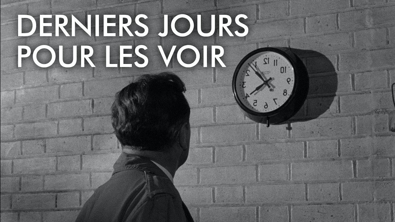 DERNIERS JOURS POUR LES VOIR