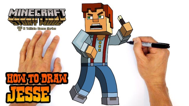 How To Draw Minecraft Steve Minecraft Video Game Characters C4k Academy
