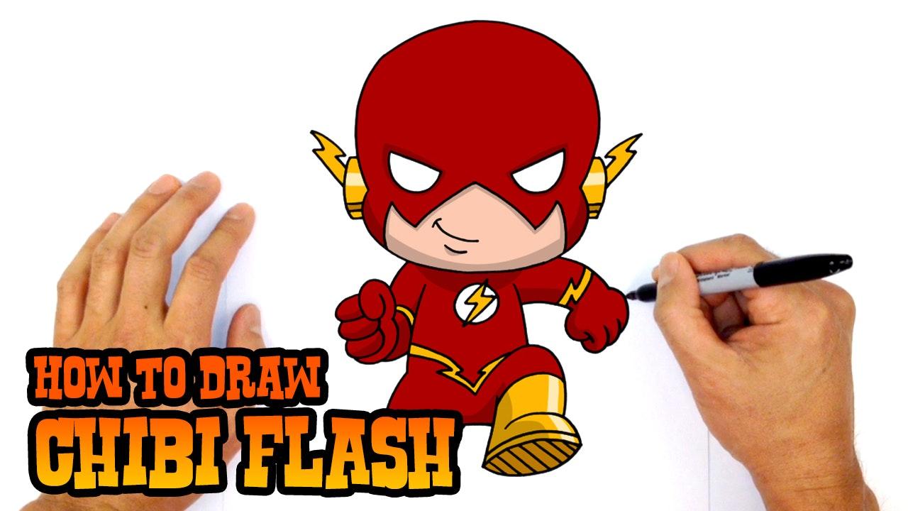 How To Draw Chibi Flash Kids
