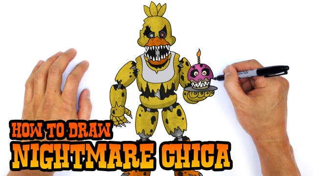 How to Draw Freddy Fazbear - FNAF Characters - C4K ACADEMY