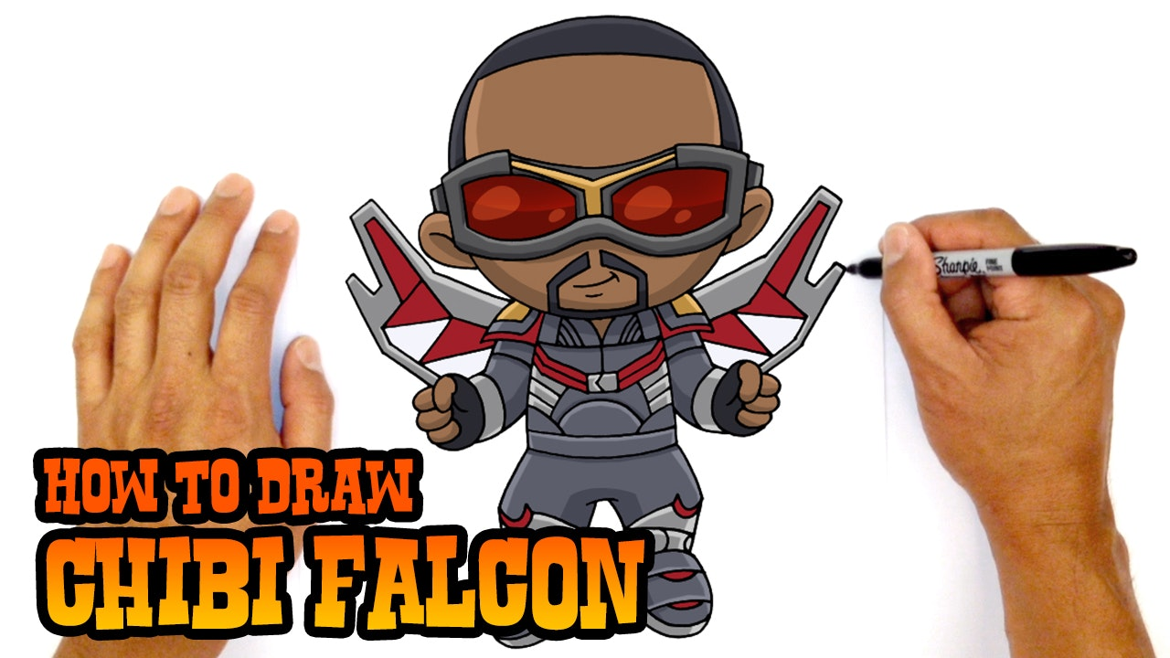 How To Draw Chibi Falcon