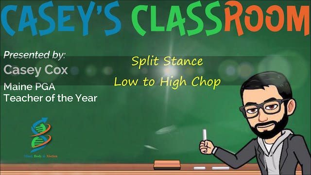 Split Stance Low to High Chop