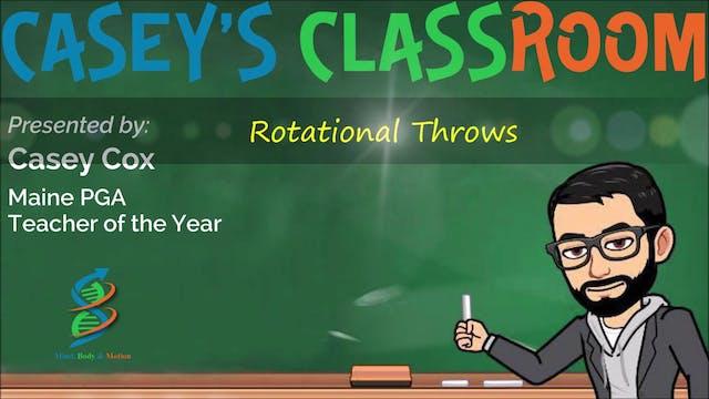 Rotational Throws