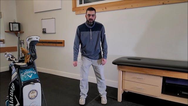 Backswing - Tilting & Rotating